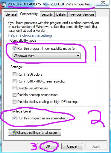 Samsung ML-1210 and Windows 7 – the driver | mattgadient com
