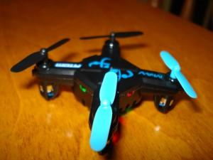 BladeRunner Atom MAV - Overhead with Leds