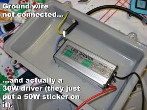 GLW Warm White 30W driver