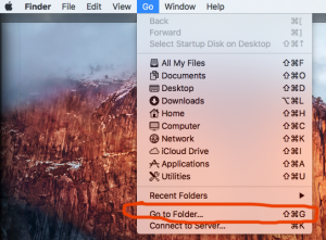 Finder: Go To Folder
