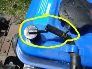 Fuel vent hose