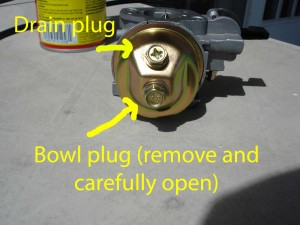 Fuel bowl
