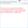 browsermessage