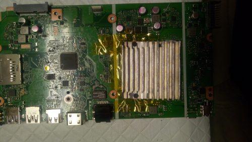 ASUS X541NA custom heatsink 2