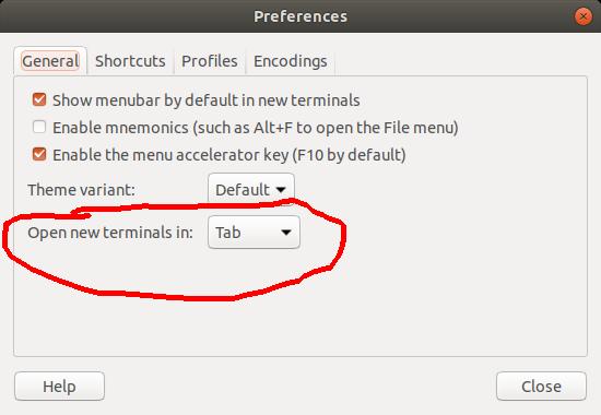 How to make the Ubuntu terminal more like the Mac OS X terminal