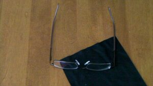 39 Dollar Glasses - Sept 2009 order - Looking at lenses #3