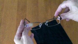 39 Dollar Glasses - Sept 2009 order - Looking at lenses #4