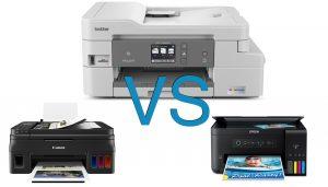 Brother MFC-J995DW vs Canon PIXMA G4210 vs Epson ET-2700