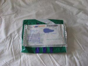 eki order #1 from Zenni - packaging