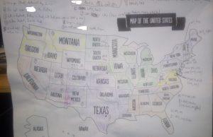 Latency Server Map USA (United States)