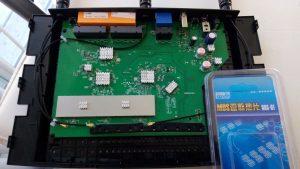TP-Link Archer C7 AC1750 (v5) - modding with some heatsinks